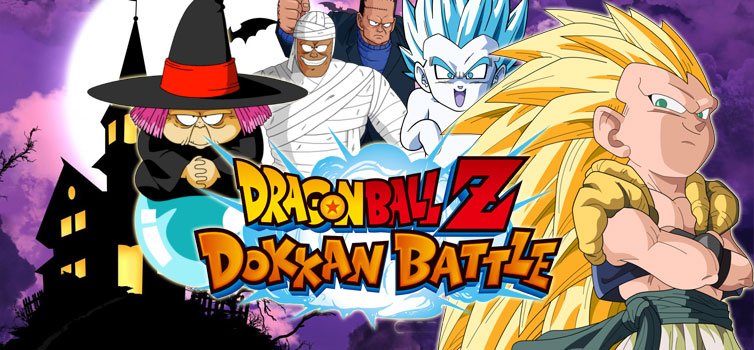 dragon ball z dokkan battle halloween celebration