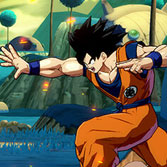 Dragon Ball FighterZ: Base Goku and Vegeta Z-Stamps, avatars, and color schemes