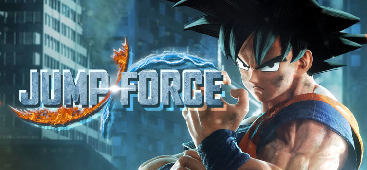Jump Force: Animation-Comic-Game Hong Kong trailer, Goku gameplay footage