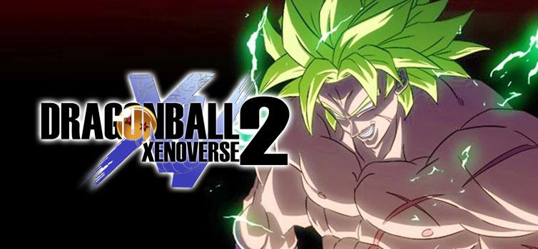 Dragon Ball Xenoverse 2: First look at Broly Super Saiyan Full Power