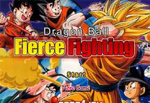 Dragon Ball Fierce Fighting 2.1 Title Screen