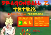 Dragon Ball Z Tetris Title Screen