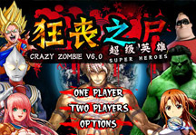 Crazy Zombie 6.0 Title Screen