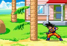 Dragon Ball Z Timber Gameplay