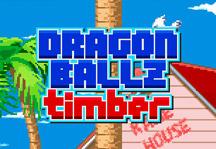 Dragon Ball Z Timber Title Screen