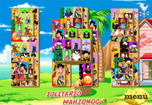 Dragon Ball Z Mahjong Gameplay