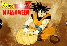 Dragon Ball Halloween Title Screen