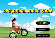 Dragon Ball Moto Game Title Screen