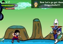 Gohan's Adventure 2 Gameplay