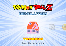 Dragon Ball Z Devolution 1.2.3 Title Screen