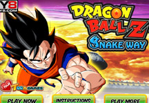 Dragon Ball Z Snakeway Title Screen