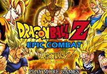 Dragon Ball Z Epic Combat Title Screen