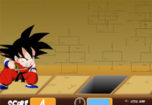 Goku Collects Dragon Balls Gameplay