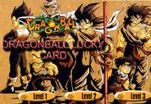 Dragon Ball Lucky Card Title Screen