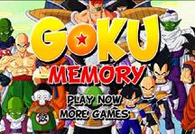 Goku Memory Title Screen