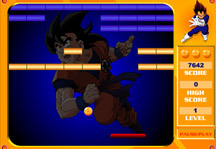 Dragon Ball Z Breakout Gameplay