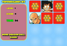Dragon Ball Memory Game Gameplay