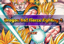 Dragon Ball Fierce Fighting 4.0 Title Screen