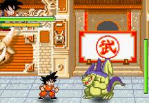 Dragon Ball Goku Fighting Gameplay