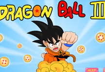 Dragon Ball III Title Screen