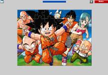 Dragon Ball Jigsaw Gameplay