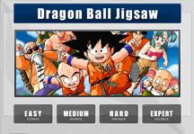 Dragon Ball Jigsaw Title Screen