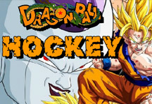Dragon Ball Hockey Title Screen