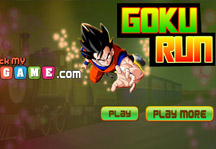 Goku Run Title Screen