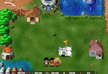Dragon Ball Z Village Gameplay