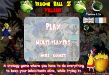 Dragon Ball Z Village Title Screen