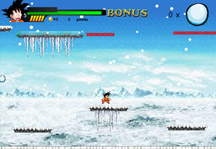 Dragon Ball Winter Adventure Title Screen