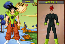Dragon Ball Dress Up 2 Gameplay