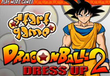 Dragon Ball Dress Up 2 Title Screen