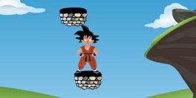 Jumping Goku