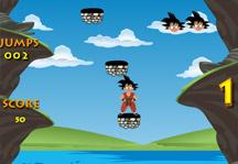 Jumping Goku Gameplay