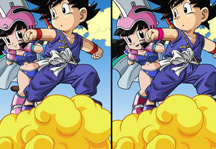 Dragon Ball Find the differences Gameplay