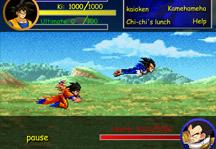 Goku vs Vegeta Gameplay