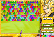 Bubble Dragon Ball Z Gameplay