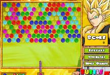 Bubble Dragon Ball Z Title Screen
