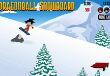 Dragon Ball Snowboard Gameplay