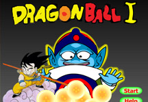 Dragon Ball I Title Screen