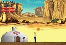 Goku vs Red Ribbon Army Gameplay