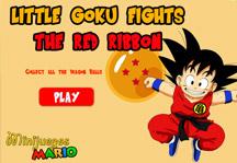 Goku vs Red Ribbon Army Title Screen