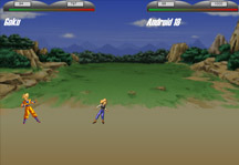 Dragon Ball Z Fight Gameplay
