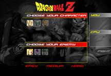 Dragon Ball Z Fight Title Screen
