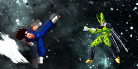 Dragon Ball Z Retro Battle X2