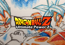 Dragon Ball Z Ultimate Power 2 Title Screen