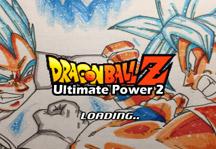 Dragon Ball Z Ultimate Power 2 Title Screen
