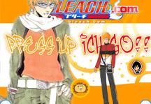 Ichigo Dress Up Title Screen