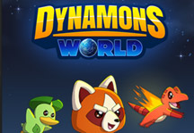 Dynamons World Title Screen